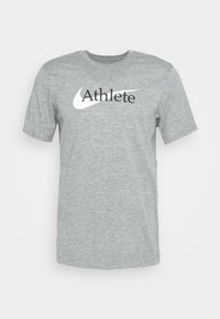 TEE ATHLETE - Print T-shirt - dark grey heather