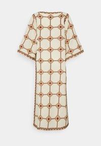 Tory Burch - EMBROIDERED CAFTAN - Długa sukienka - beige - 9