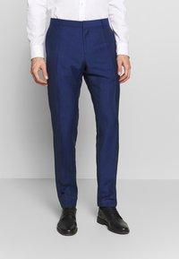 Tommy Hilfiger Tailored - PIECE WOOL BLEND SLIM SUIT - Garnitur - blue - 4