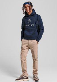 GANT - Hoodie - evening blue - 0