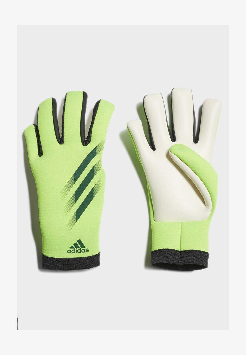 adidas Performance - X TRAINING GOALKEEPER GLOVES - Gloves - green