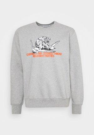 STONES THROW - Bluza - grey heather