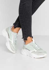 ONLY SHOES - ONLSANNA CHUNKY  - Trainers - mint - 0