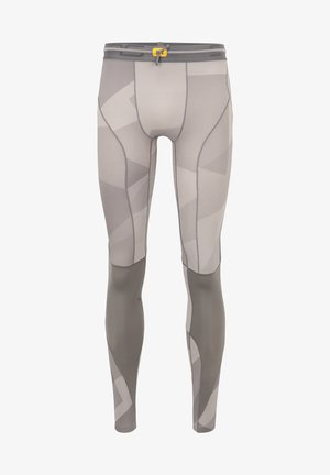 Leggings - grey geo