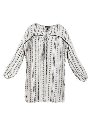 Shirt dress - weiss
