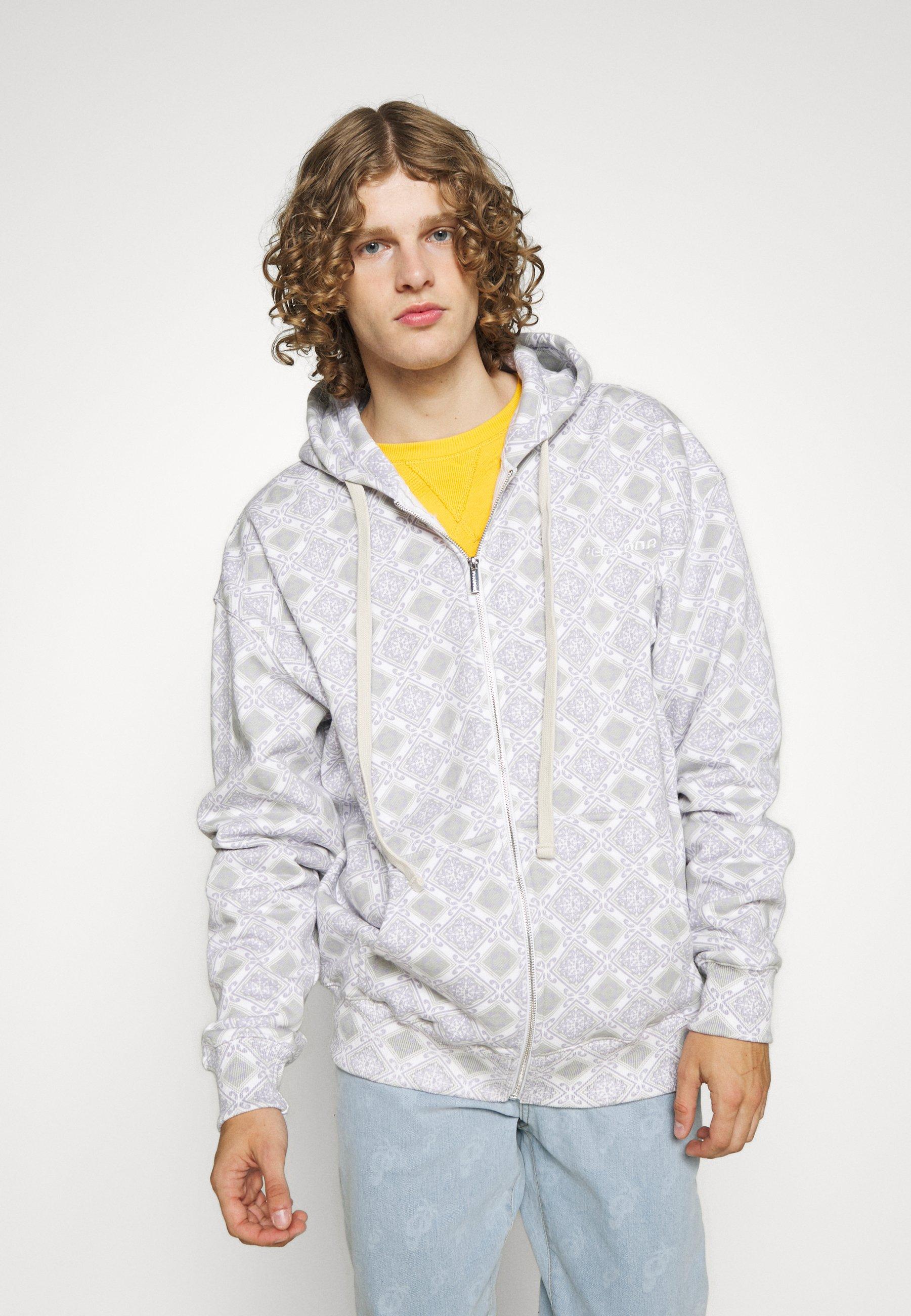 Men MOSAIC OVERSIZED JACKET UNISEX - Zip-up sweatshirt