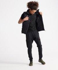 Superdry - VINTAGE  - T-shirt print - vast black space dye - 1