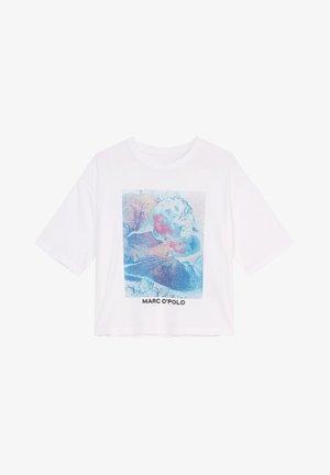SHORT SLEEVE - Print T-shirt - multi white