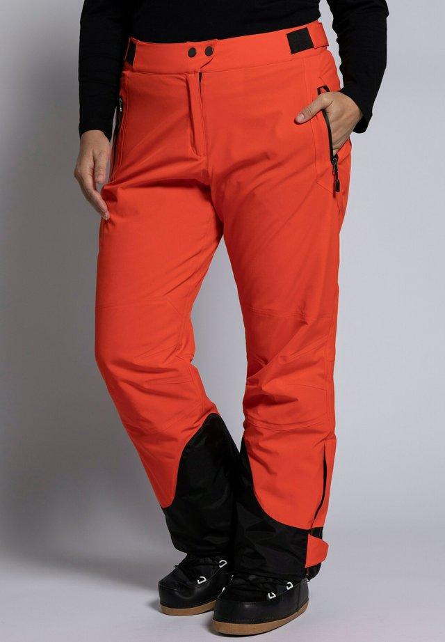 Pantalon de ski - knallorange