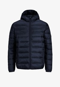 Jack & Jones - JJEMAGIC PUFFER HOOD - Light jacket - navy blazer - 0