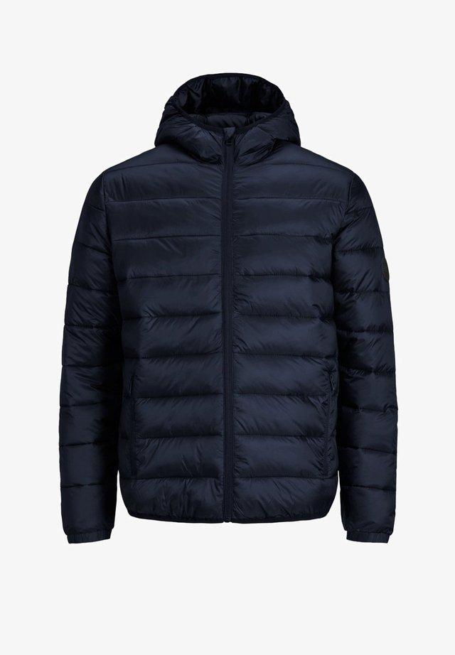 JJEMAGIC PUFFER HOOD - Veste mi-saison - navy blazer