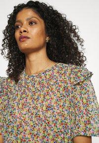 Lindex - BLOUSE AURELIA - Print T-shirt - black - 3