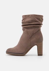 s.Oliver - High heeled ankle boots - pepper - 1