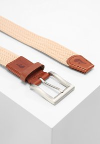 Slopes&Town - CLASSIC - Braided belt - sand - 2