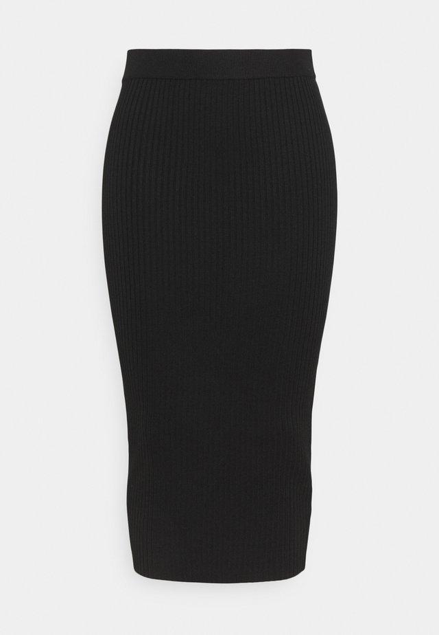 MIDAXI SKIRT - Jupe crayon - black