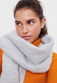 Bershka - Scarf - light grey - 1