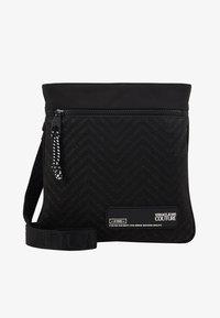 Versace Jeans Couture - Taška spříčným popruhem - black - 1