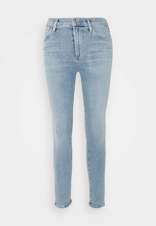 ROCKET ANKLE - Jeans Skinny - paradiso light indigo