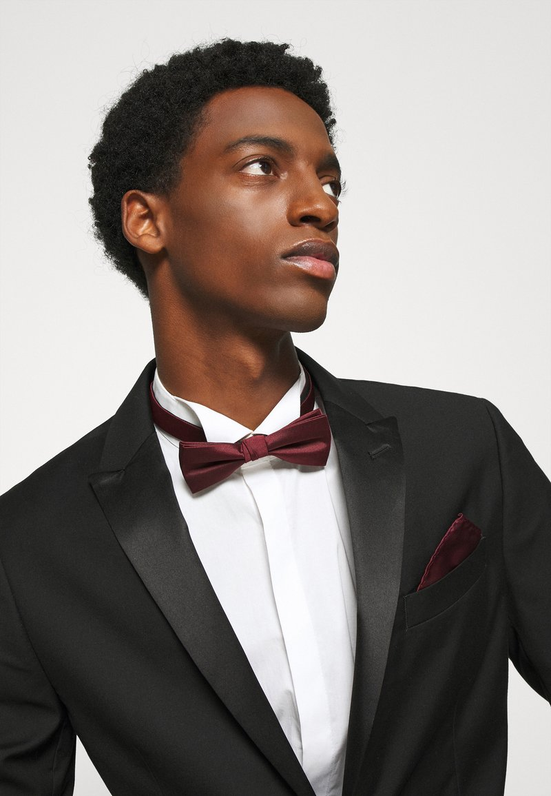 Selected Homme - SLHNIGHT NEW BOWTIE SET - Pocket square - winetasting