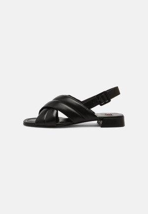 FEELING - Sandaalit nilkkaremmillä - schwarz