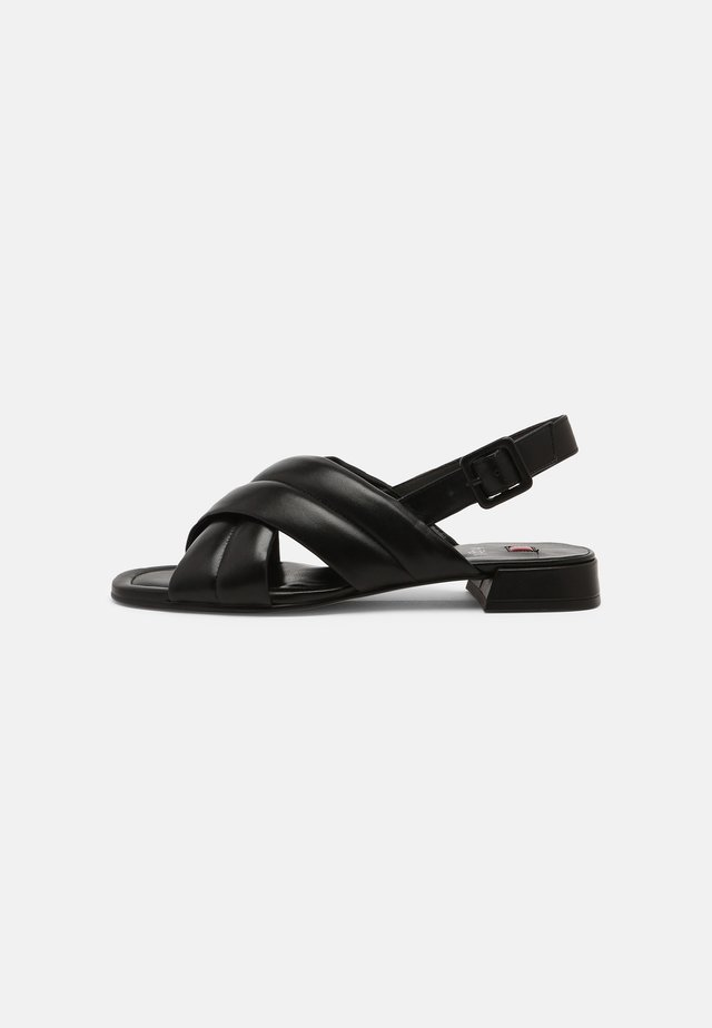 FEELING - Sandales - schwarz