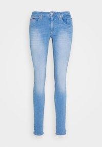 Tommy Jeans - SCARLET - Jeansy Skinny Fit - maldive light blue - 4