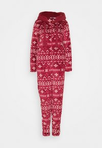 Hunkemöller - ONESIE FAIRISLE - Pyjamas - rumba red - 0