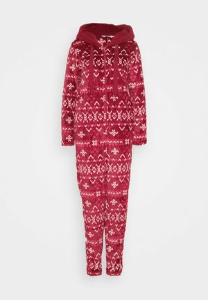 ONESIE FAIRISLE - Pyjamas - rumba red