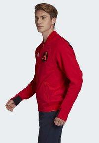 adidas Performance - VRCT JACKET - Training jacket - red - 3
