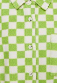NEW girl ORDER - CHECKERBOARD - Veste polaire - green - 2