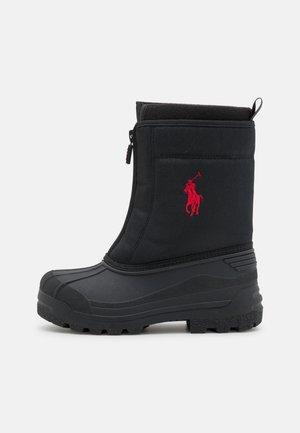 QUILO ZIP UNISEX - Zimní obuv - black/red