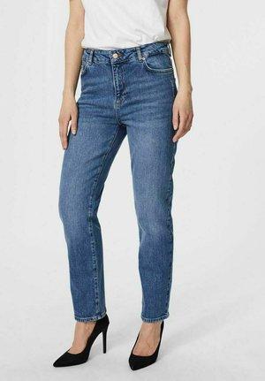 VMCARLA - Straight leg jeans - medium blue denim