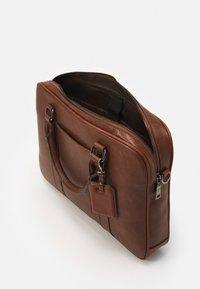 ALDO - PANDORO - Briefcase - cognac - 2