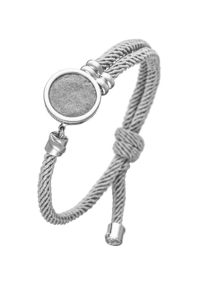 AROMA FIONDA - Armband - grau/silber