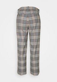 J.CREW - PEYTON PANT IN PLAID - Trousers - bronzed ochre/rust - 7