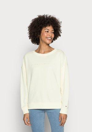 OVERSIZED TONAL OPEN - Sweatshirt - yellow