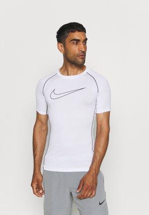 TIGHT - T-shirts med print - white/black