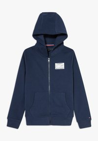 Tommy Hilfiger - REFLECTIVE GRAPHIC FULL ZIP - Zip-up hoodie - blue - 0