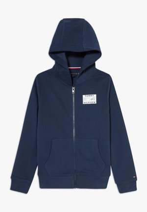 REFLECTIVE GRAPHIC FULL ZIP - Mikina na zip - blue