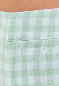 Bershka - Trousers - green - 4