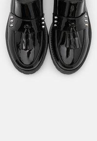 Glamorous Wide Fit - BOB - Nazouvací boty - black - 5