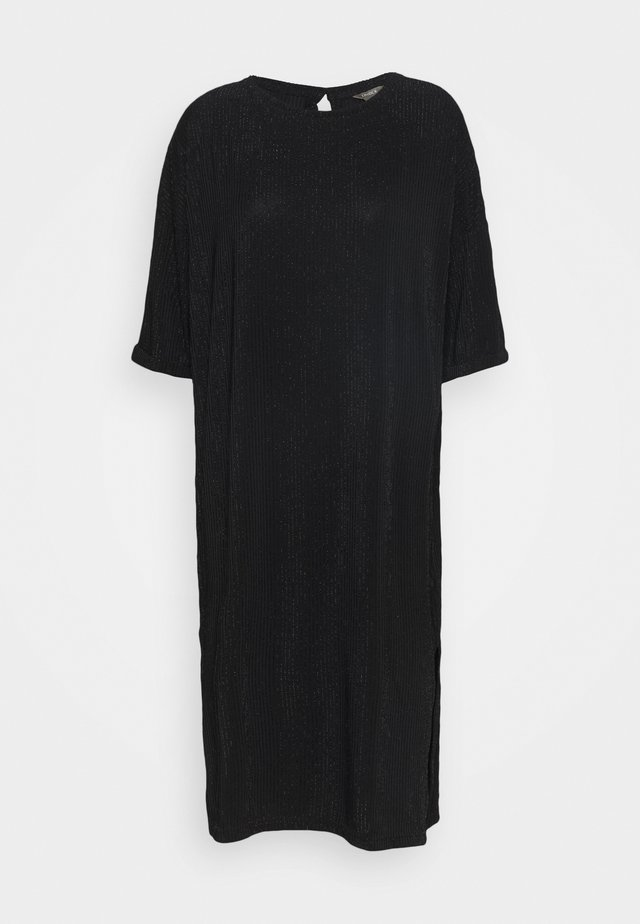 DRESS SARA - Trikoomekko - black