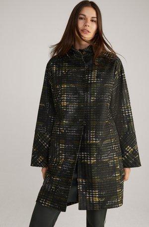 CAYLEE - Classic coat - oliv/schwarz/beige
