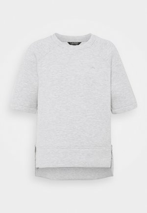 MODERN KNIT  - Basic T-shirt - pearl grey heather