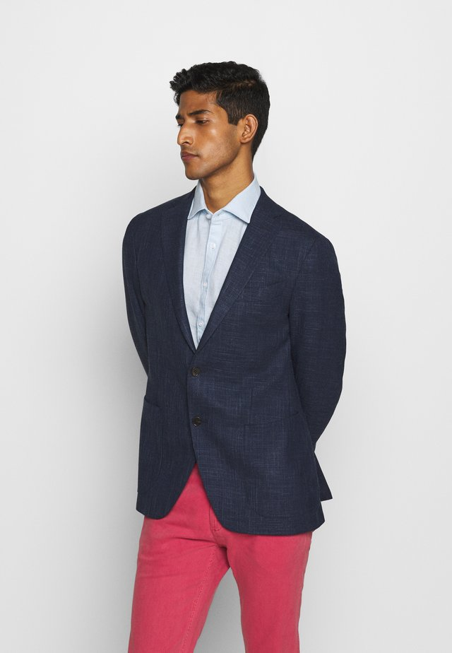 SLIM FIT BLEND - Blazer jacket - navy