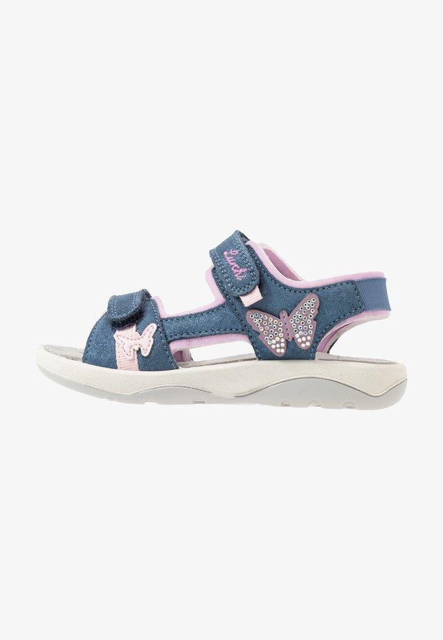 FIA - Sandaalit nilkkaremmillä - jeans
