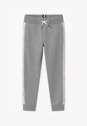 TAPE - Tracksuit bottoms - grey