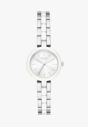 CITY LINK - Watch - silver-coloured/white