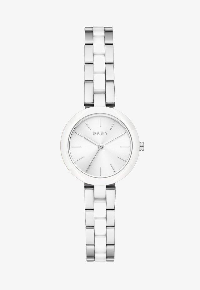 CITY LINK - Horloge - silver-coloured/white