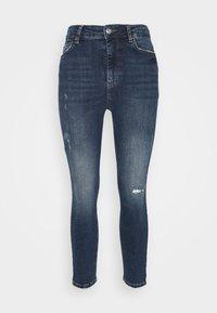 PCZELMA - Skinny džíny - medium blue denim